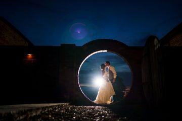 evening couple shot at Blackwell Grange