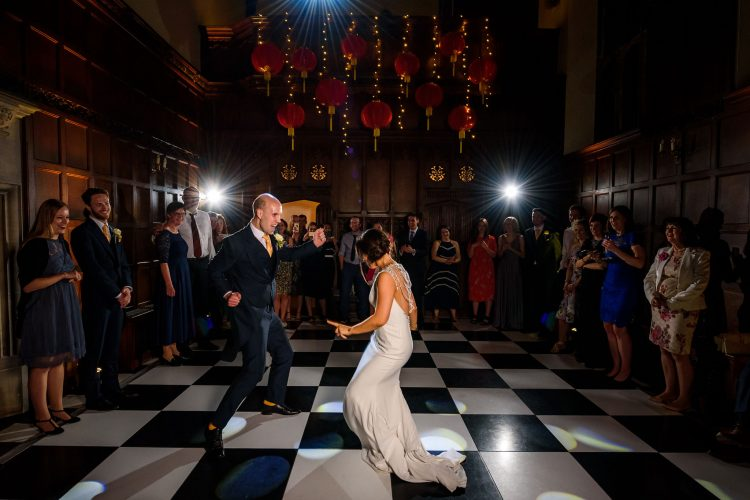 first dance boogie at Hengrave Hall