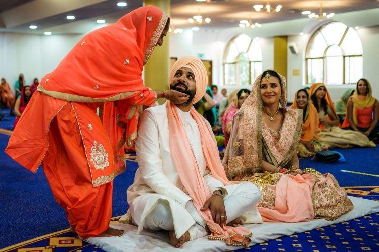 Sikh wedding photography